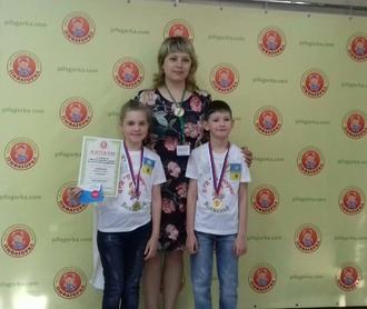 Волжане приняли участие во 2 международном турнире по ментальной арифметике в Москве!