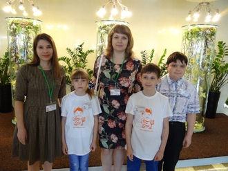 Волжане приняли участие в 1 международном турнире по ментальной арифметике в Москве!