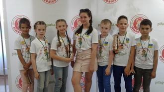 Очередная победа Волжан на международном турнире по ментальной арифметике Москва 2018!